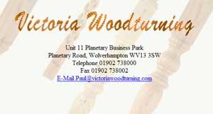 Victoria Woodturning